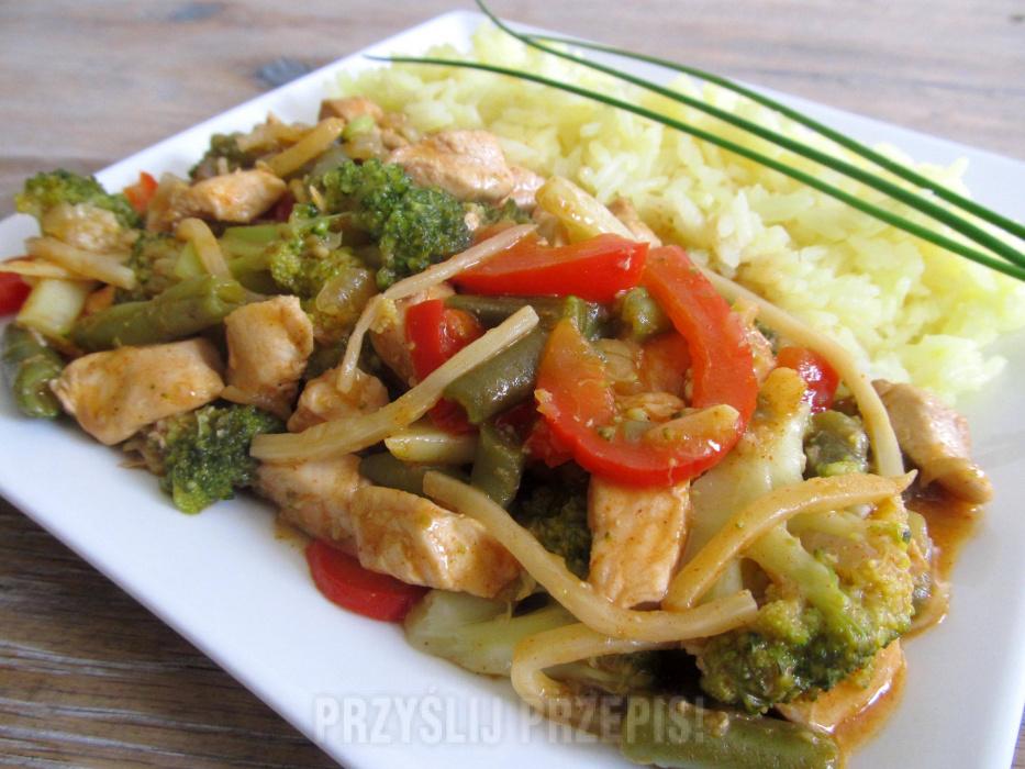 Kurczak Z Warzywami Po Wietnamsku Przyslijprzepis Pl