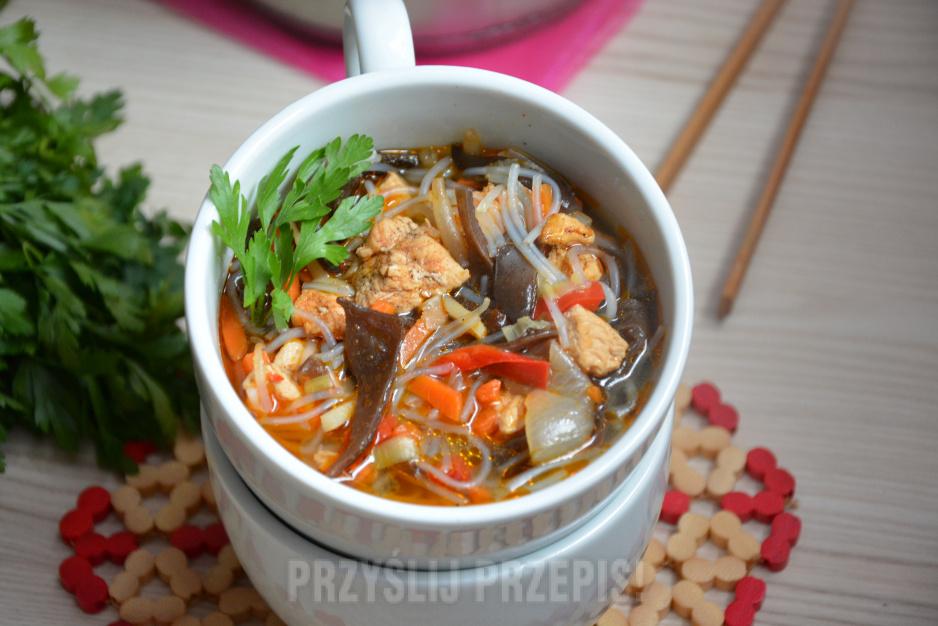 Zupa Chinska Przyslijprzepis Pl