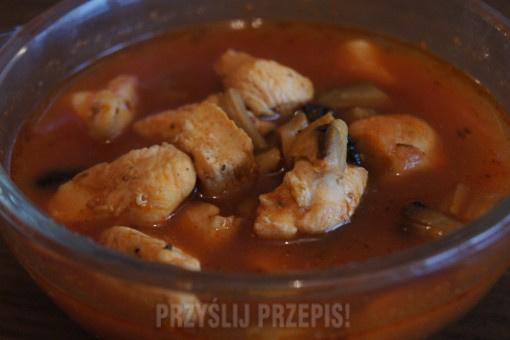 Pomidorowa Zupa Gyros Przyslijprzepis Pl