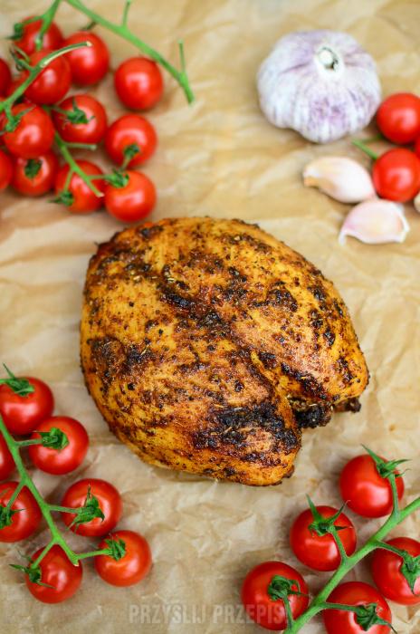 Aromatyczna I Krucha Pieczona Piers Z Kurczaka Przyslijprzepis Pl