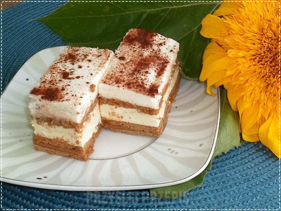 Ciasto 3 Bit Na Ciemnych Herbatnikach Przyslijprzepis Pl
