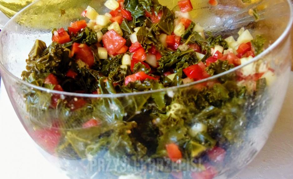 Kolorowa Salatka Z Jarmuzem Przyslijprzepis Pl