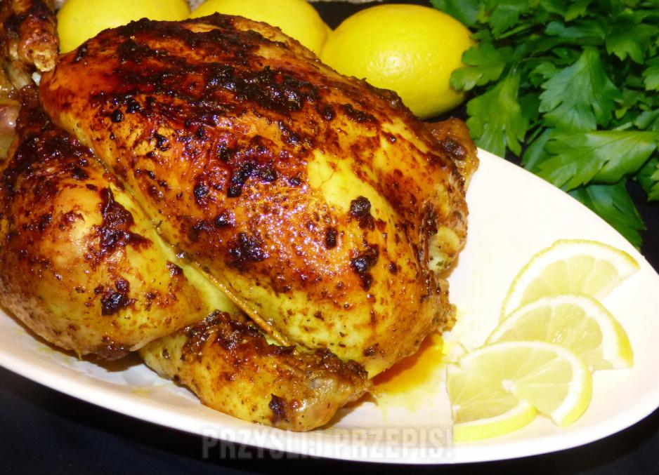 Kurczak Pieczony W Calosci Przyslijprzepis Pl