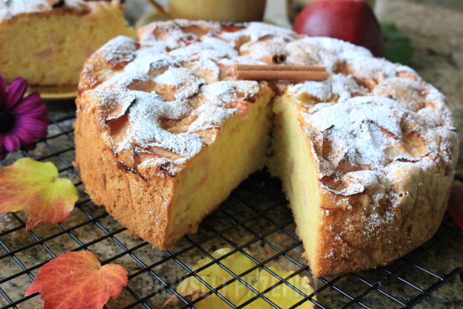 Ciasto Na Oleju Z Jablkami