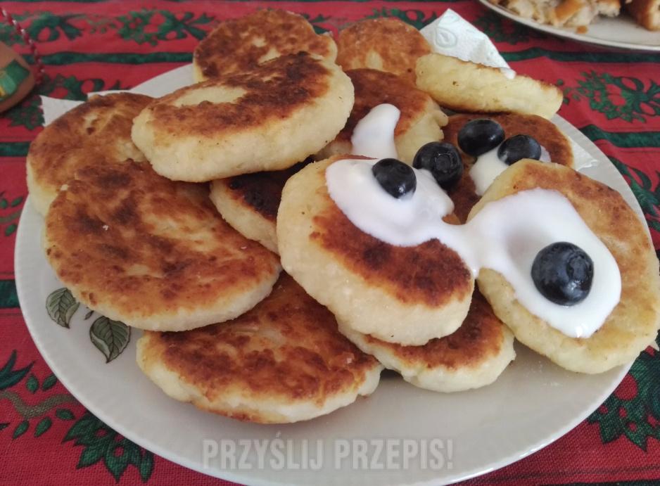 Smażone Serniczki Kuchnia Rosyjska Przyslijprzepispl