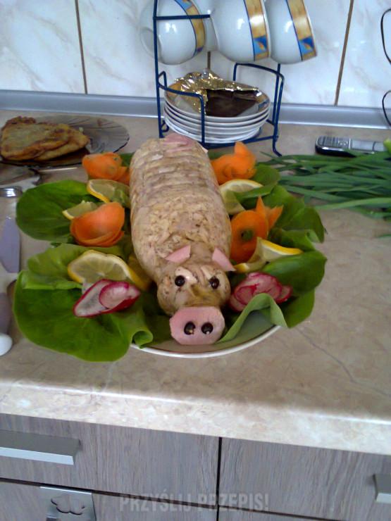 Galareta Wieprzowa świnka Przyslijprzepispl