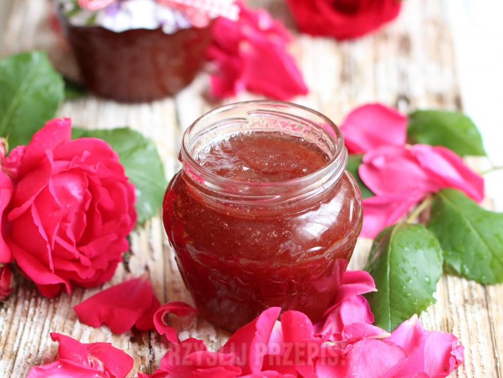 Jak zrobić konfiturę różaną