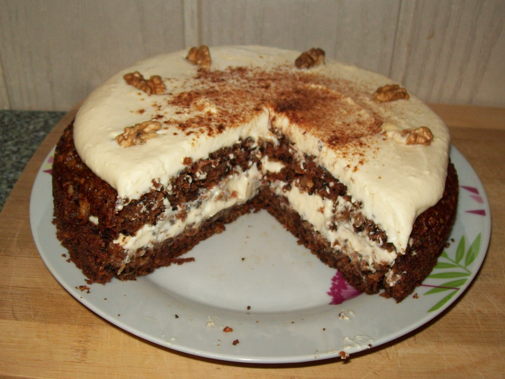 Ciasto Marchewkowe Z Gestym Kremem Mascarpone Przyslijprzepis Pl