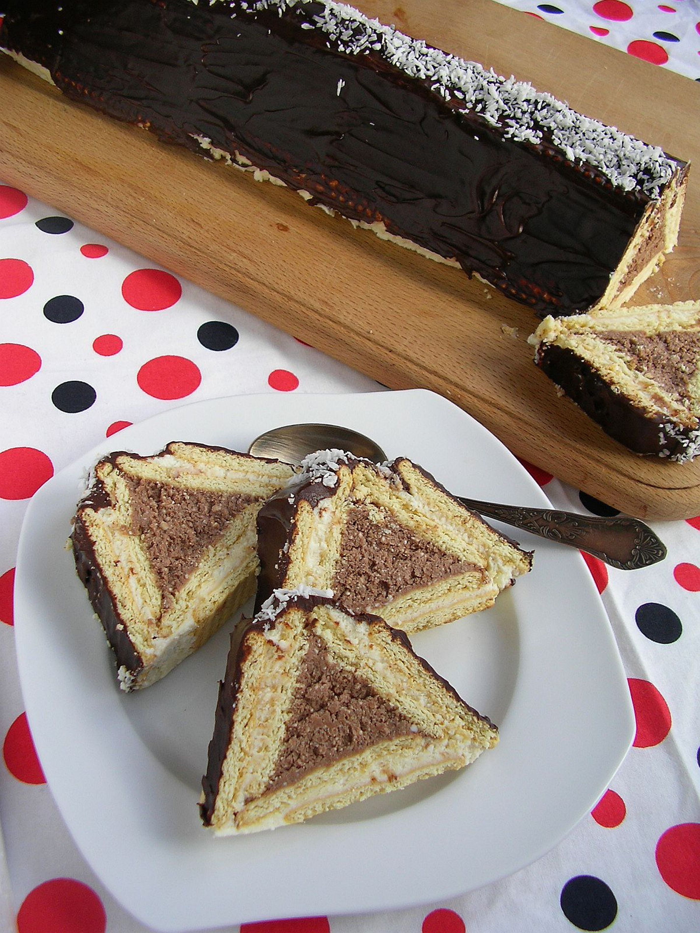 chatka ciasto bez pieczenia przyslijprzepispl