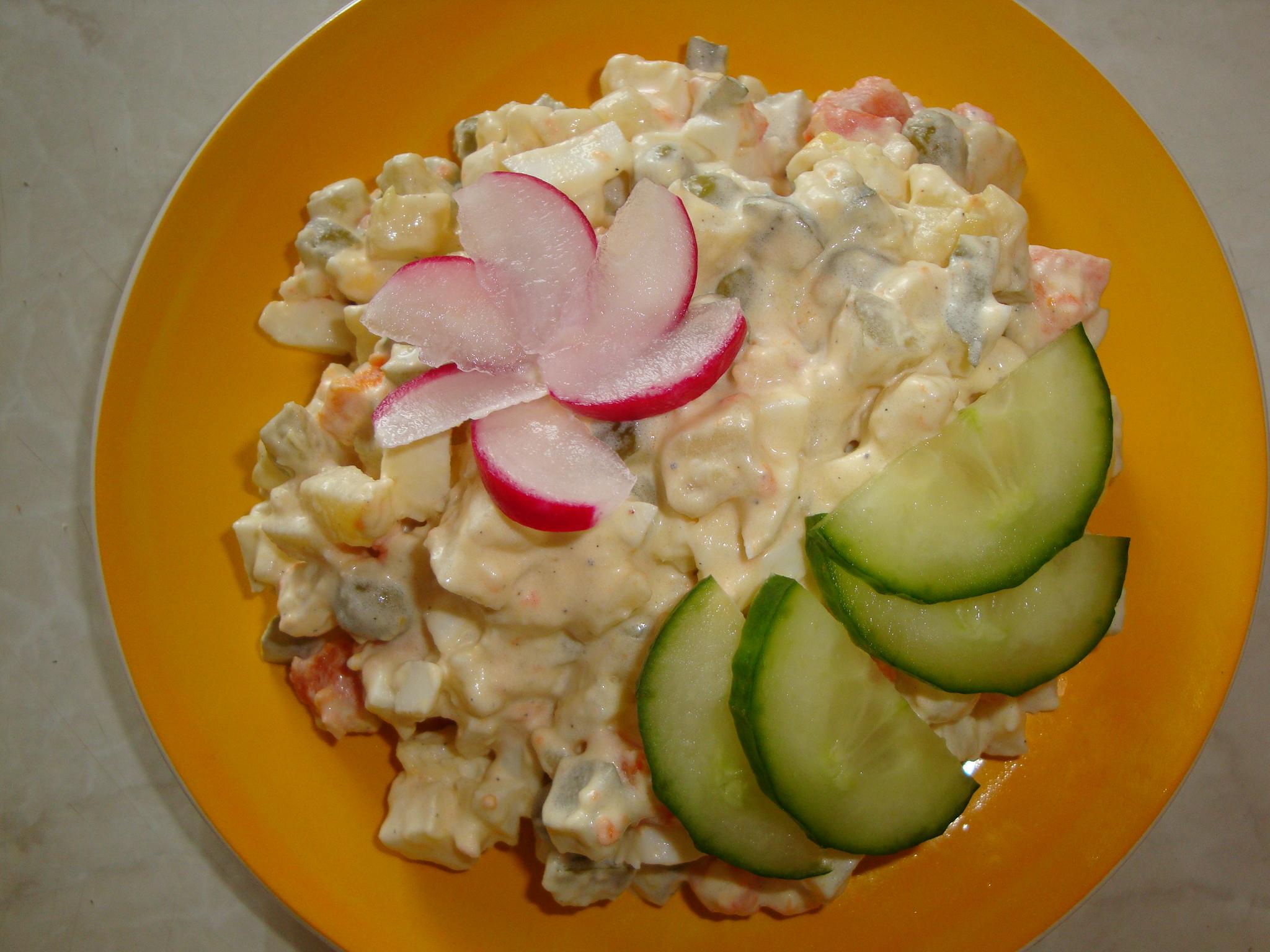 Tradycyjna Salatka Ziemniaczana Z Jablkiem Przyslijprzepis Pl