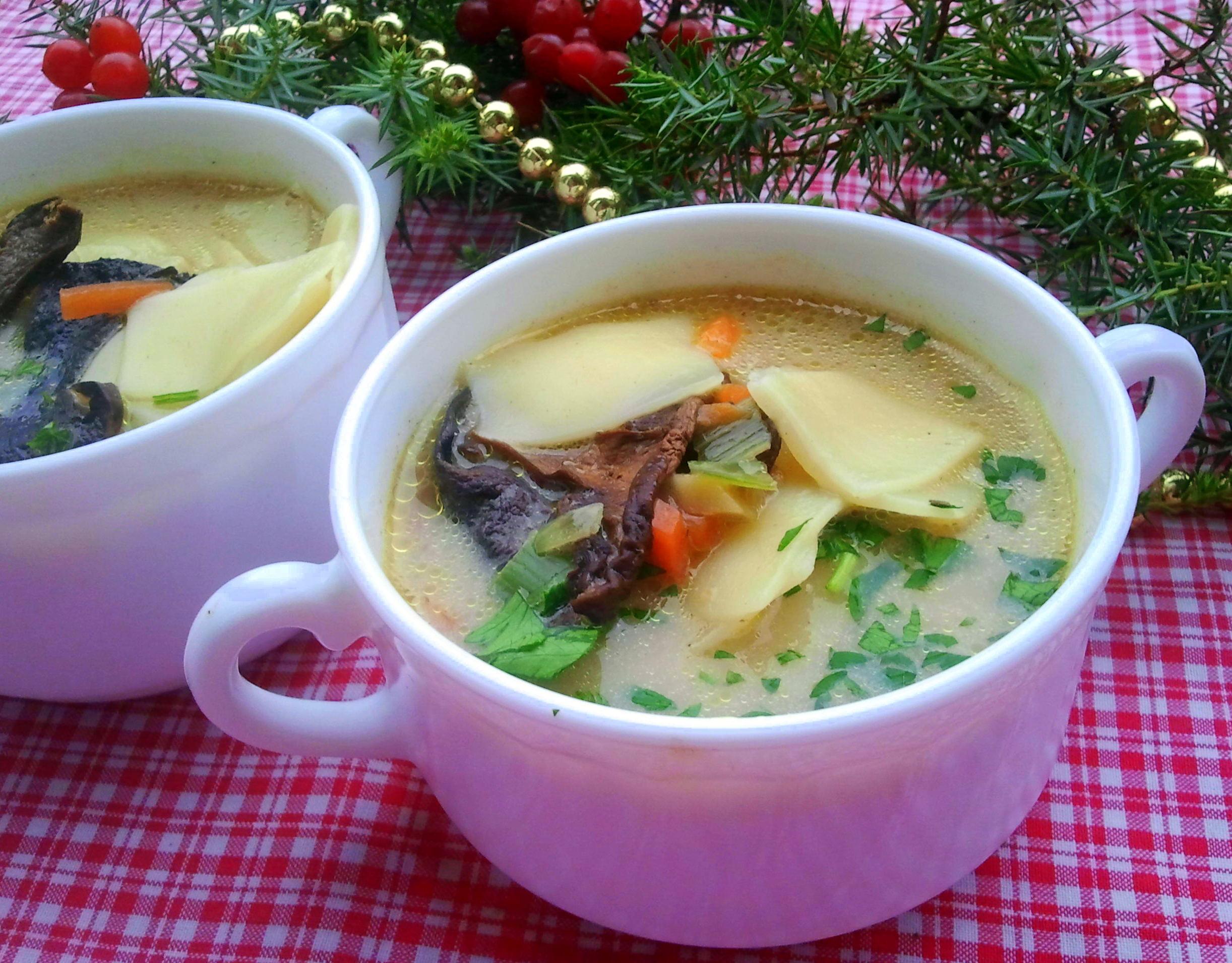 Zupa Grzybowa Z Ziemniakami Przyslijprzepis Pl