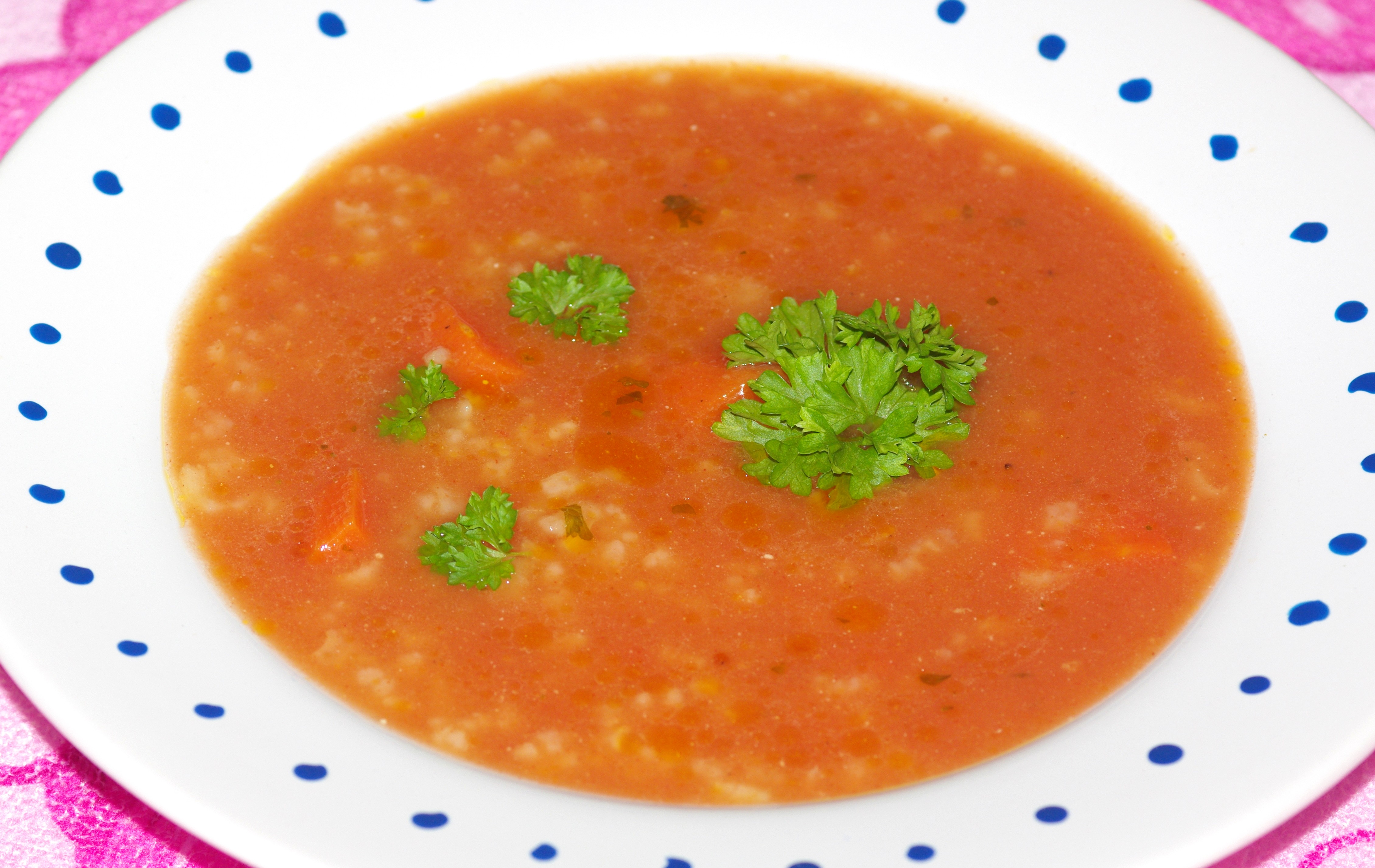 Prosta Zupa Pomidorowa Z Ryżem Przyslijprzepispl