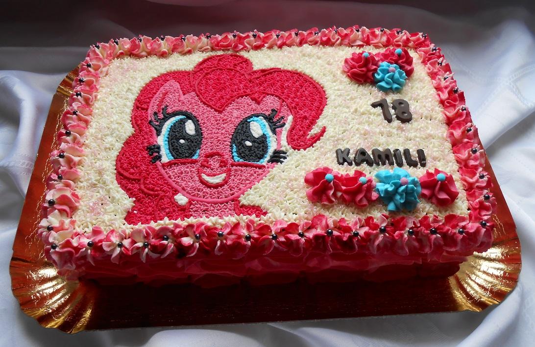 Tort Pinky Pie Przyslijprzepispl