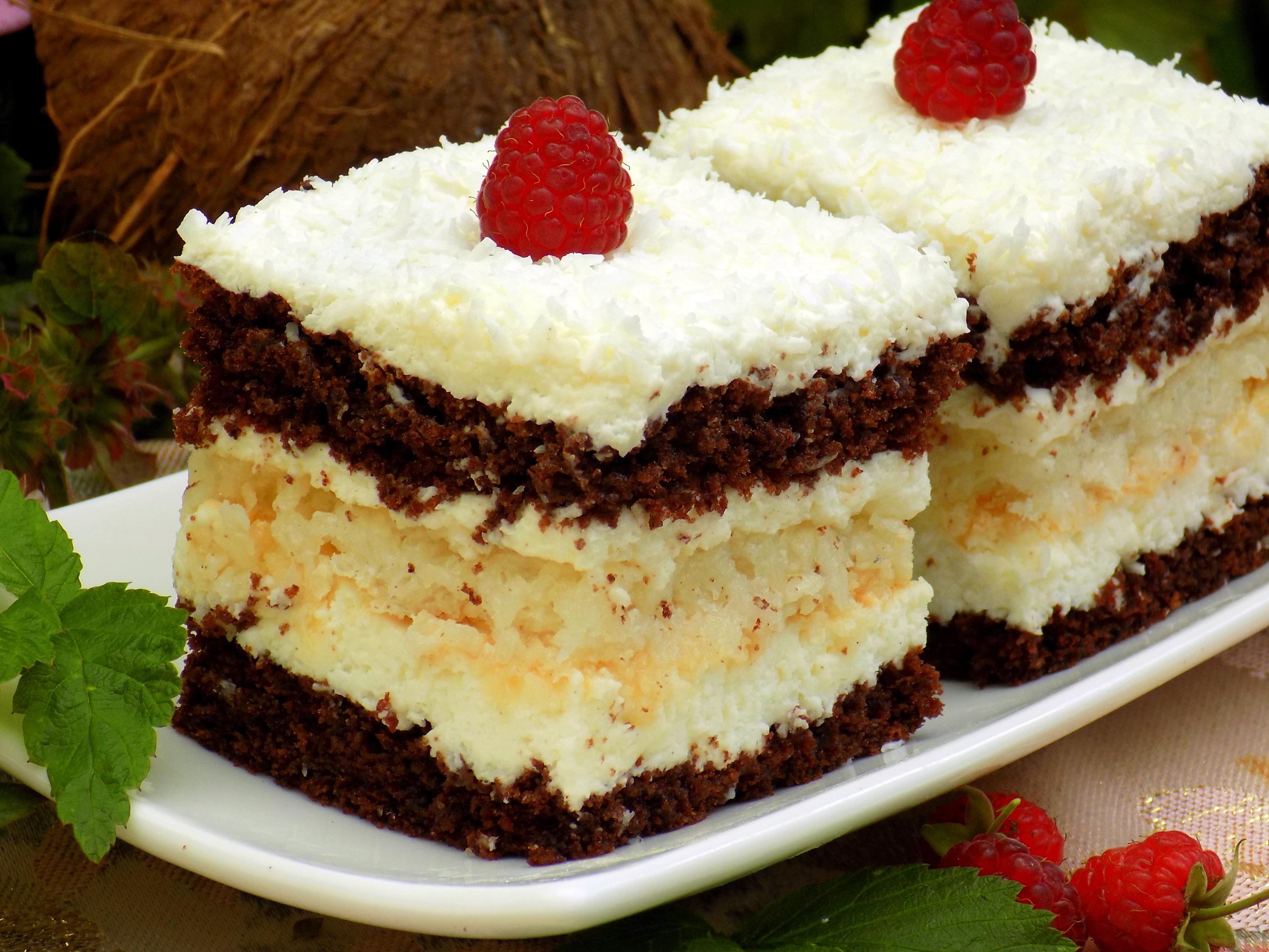 Kokosowiec ciasto kokosowe z bez i mascarpone for What to do with mascarpone