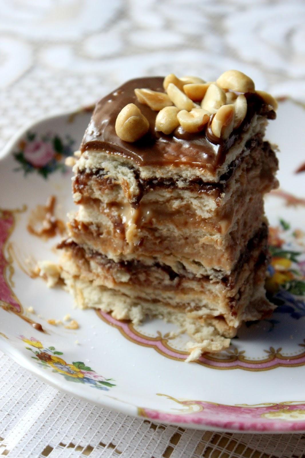 Ciasto Snikers Bez Pieczenia Przyslijprzepis Pl