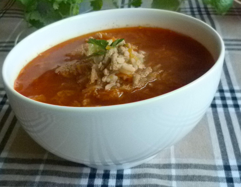 Zupa Z Kapusty Pekinskiej I Miesa Mielonego Przyslijprzepis Pl